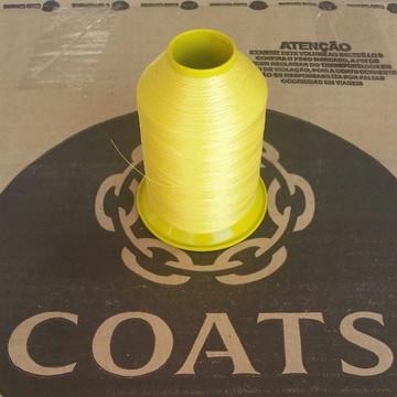 Linha 60 Coats Amarelo Canário 4165 80g