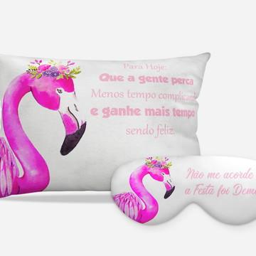 Kit Festa do Pijama Flamingos