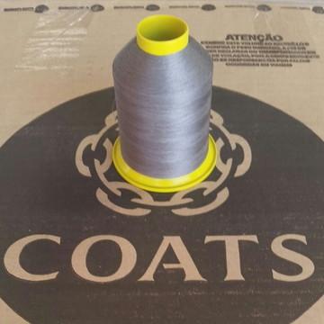 Linha 60 Coats cinza 3010 80g