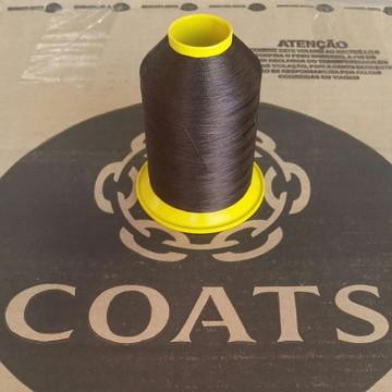 Linha 60 Coats Marrom NC224 cone com 80g