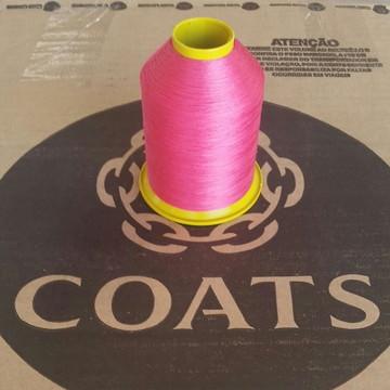 Linha 60 Coats Pink 9608 cone com 80g