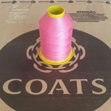 Linha 60 Coats Rosa 7625 cone com 80g