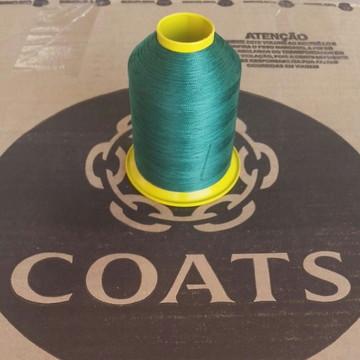 Linha 60 Coats Verde Bandeira 8320 cone com 80g