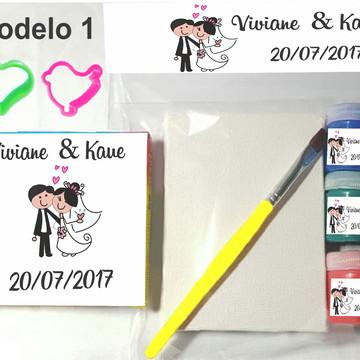 Kit massinha e pintura-Casal