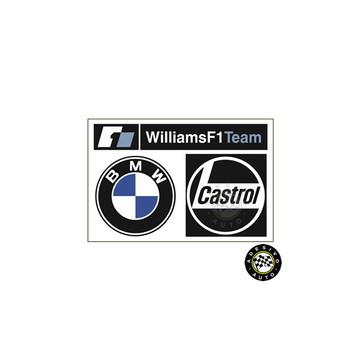Adesivo BMW Williams F1 Formula 1 Team Castrol
