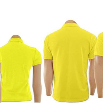 c10dc73b16 Kit Camisetas Gola Polo Amarelo Masculino e Feminino