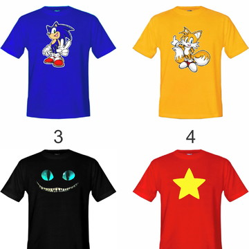 Kit 5 Camisetas Infantil Vários Modelos ! Escolha Já A Sua !