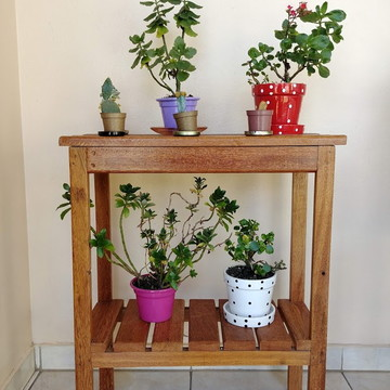 Estante para Vasos de Flores