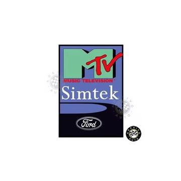 Adesivo MTV Simtek Ford F1 Formula 1 A Pronta Entrega