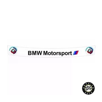 Adesivo BMW Motorsport Para Viseira De Capacete