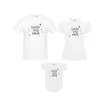 Kit Camiseta Estrelas de sentimentos