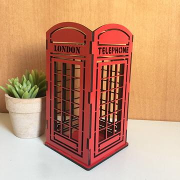 Cabine Telefônica Vermelha