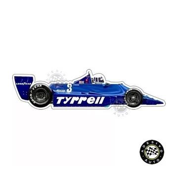 Adesivo Tyrrell 009 Didier Pironi F1 Formula 1 Carros