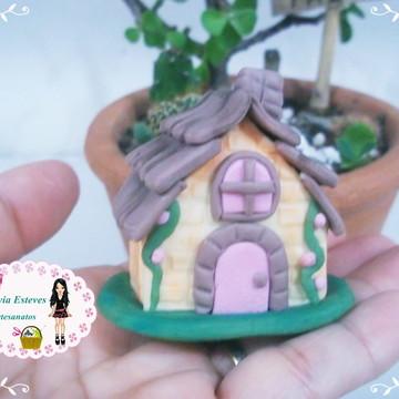 casinha miniatura para terrario
