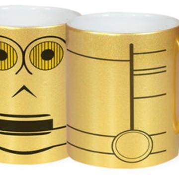 Caneca Dourada C3PO