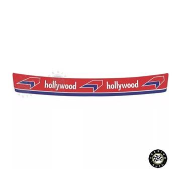 Adesivos Hollywood Para Viseira De Capacete Pronta Entrega