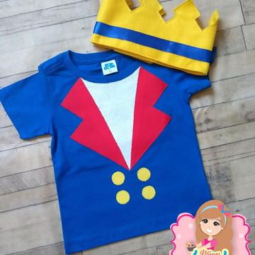 Blusa personalizada pequeno príncipe