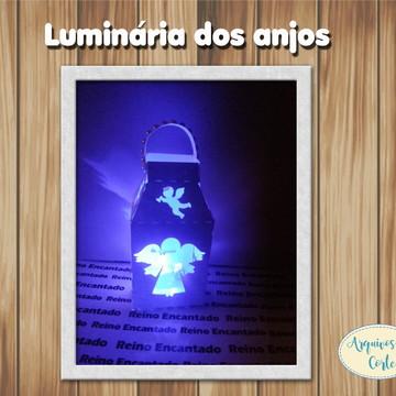 LUMINÁRIA DOS ANJOS ARQUIVO DE CORTE