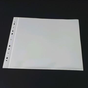 refil plástico-álbum de scrap- furação universal