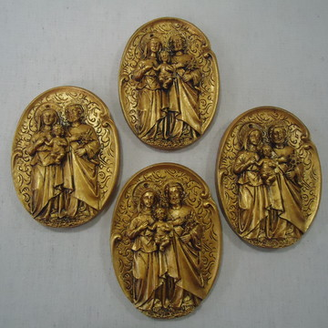 Medalhão Sagrada Familia