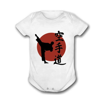 Body Bebê Karatê Artes Marciais