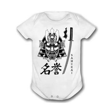 Body Bebê Samurai Artes Marciais
