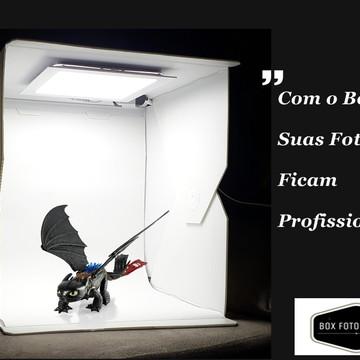 Box Foto Studio 40 ( Médio 37 X 36 X 41 Cm )
