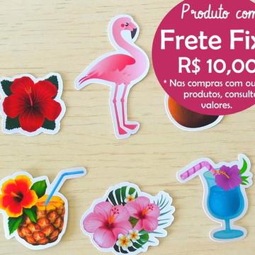 Aplique Flamingo Festa Tropical