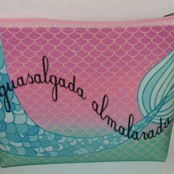 Bolsinhas Necessaire Mermaid Sereia