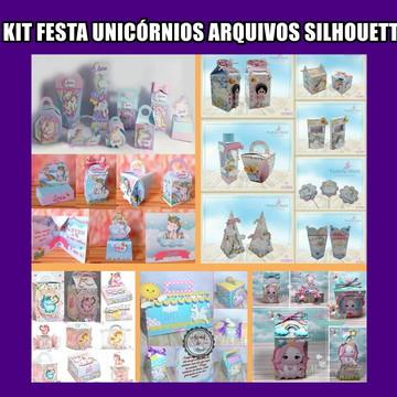 06 Festa Digital Unicornio Arquivos Corte Silhouettes