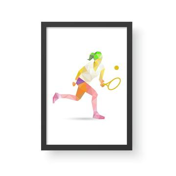 Quadro Esporte 5 Tênis