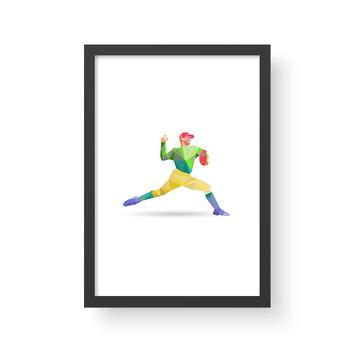 Quadro Esporte 6 Baseball