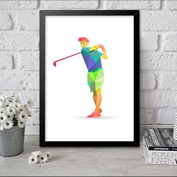 Quadro Esporte 7 Golf