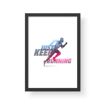 Quadro Esporte 13 - Corrida