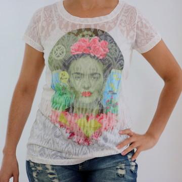 9034c43b10 Camiseta Feminina Frida nordestina