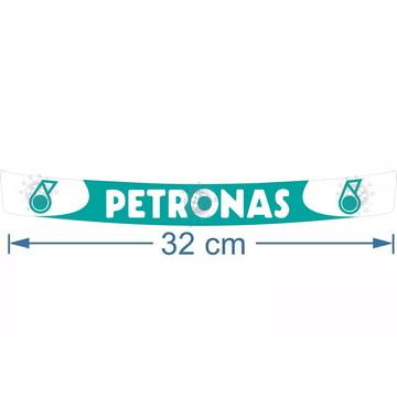 Adesivo Petronas Para Viseira De Capacete A Pronta Entrega