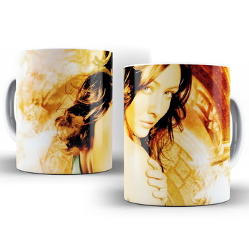 Caneca Seriado Série Charmed Prue Halliwell Shannen Doherty