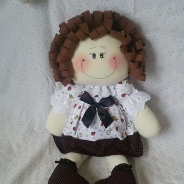 Boneca Sapeca (boneca de pano)