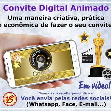 Convite Animado Digital - Oscar