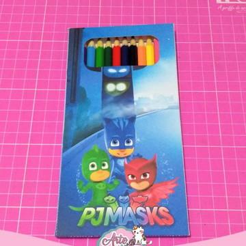 Arquivo de corte caixa para lápis de cor 12 cores