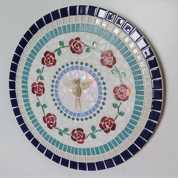 Mandala Divino Espírito Santo Rosas Vermelhas 40