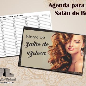 Agenda Serviços de Beleza - 1 Profissional