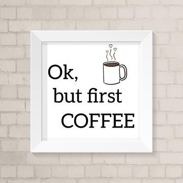 Quadro Cozinha - Coffee