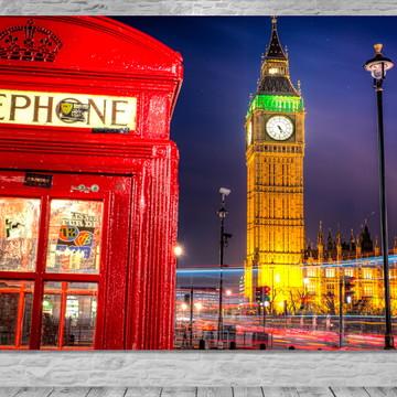 Painel Big Ben Telefone- Frete Grátis