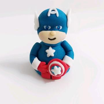Bombom/Trufas Personalizadas Capitão América