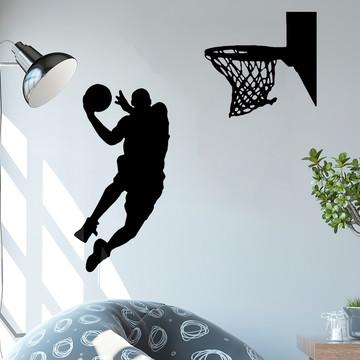 Adesivo de Parede - Basquete NBA