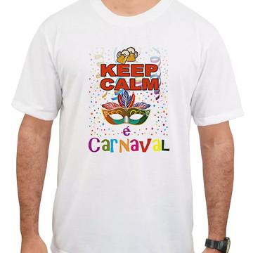 Camiseta masculina Carnaval 2019