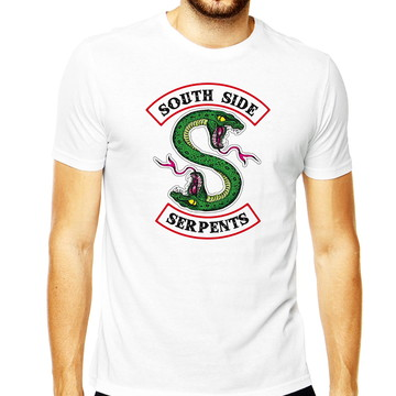 15ad7b7c37 Camiseta Masculina Serpents South Side Camisa Serpents