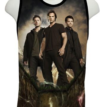 Camiseta Série Supernatural - Regata