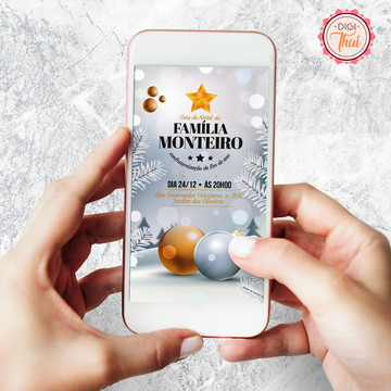 Convite - Ceia de Natal 6